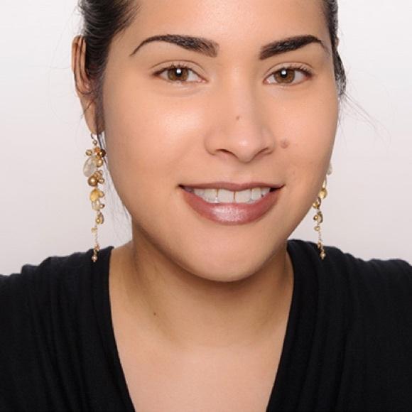 MAC cosmetics makeup: studio careblend powder and blush in